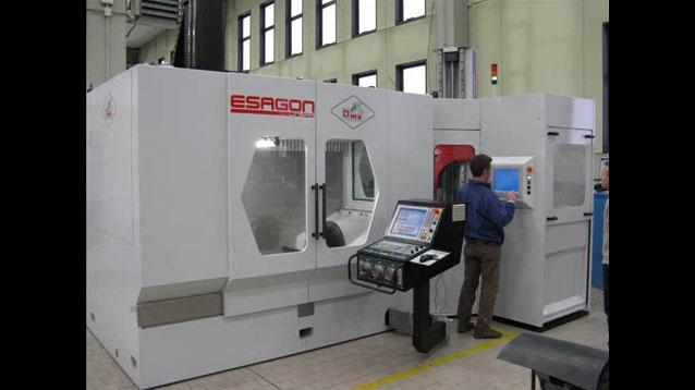 Sistema cambio pallet serie L per asservimento macchina di misura ESAGON