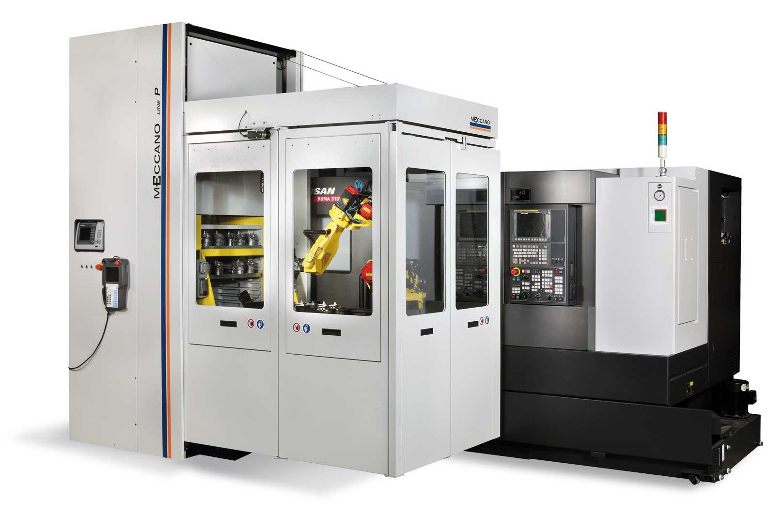 cassettiera robotizzata meccano in lavorazione automatica