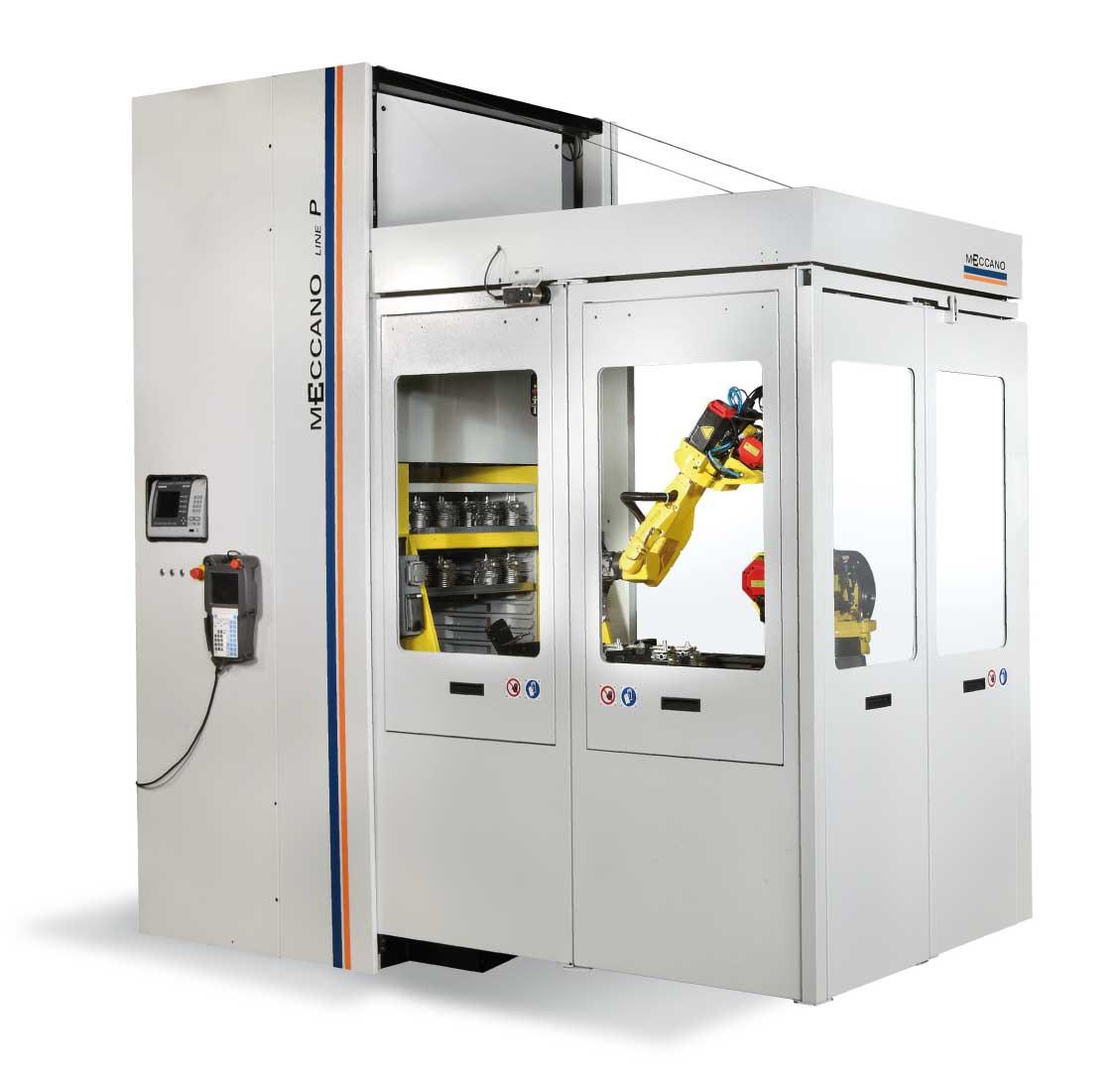 cassettiera robotizzata meccano