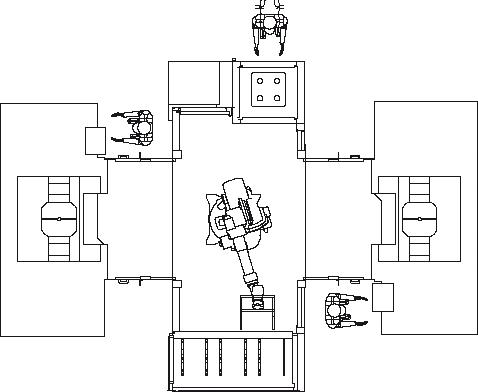 Asservimento 2 macchine utensili (opzionale)