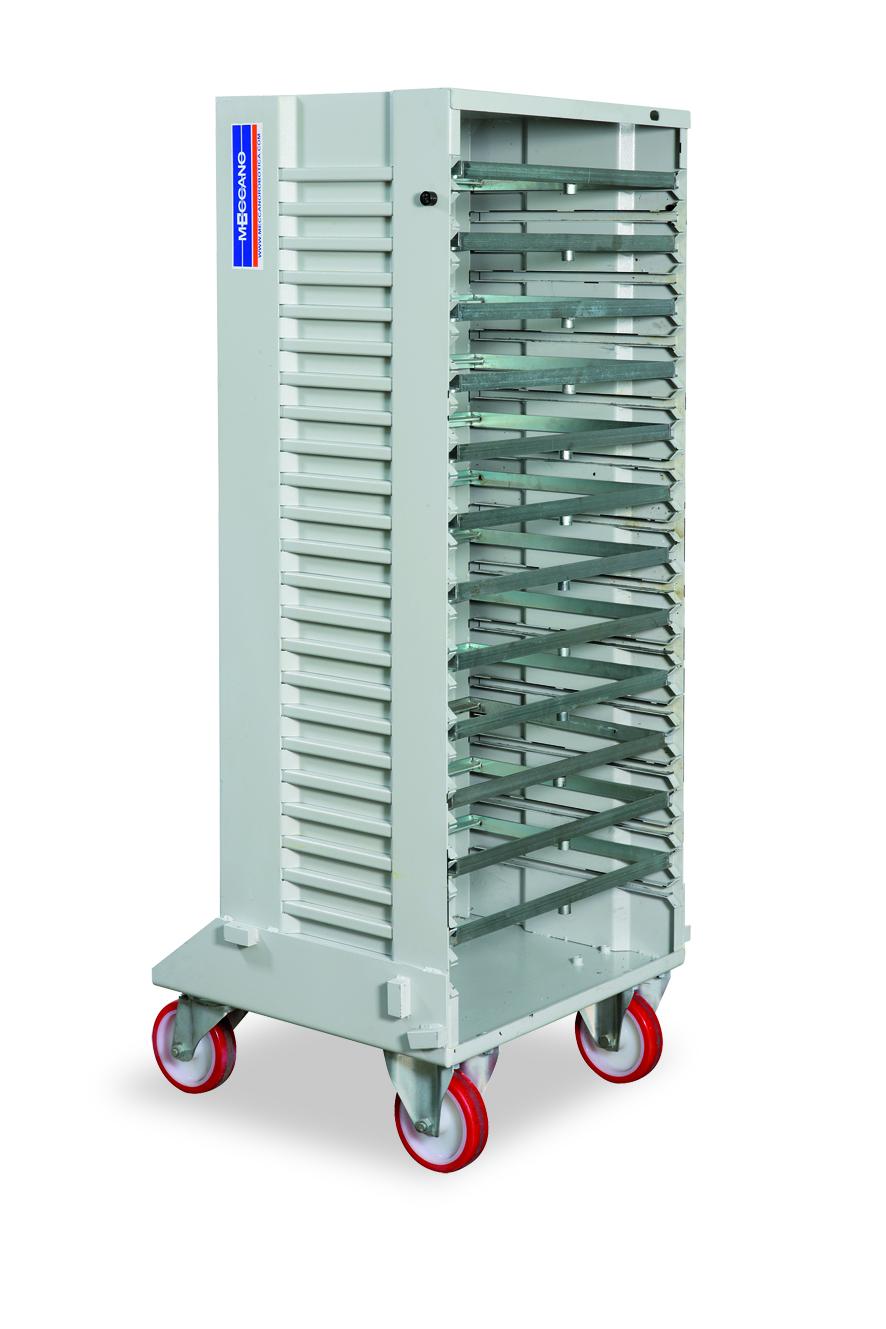 carrelli standard per cassettiera robotizzata