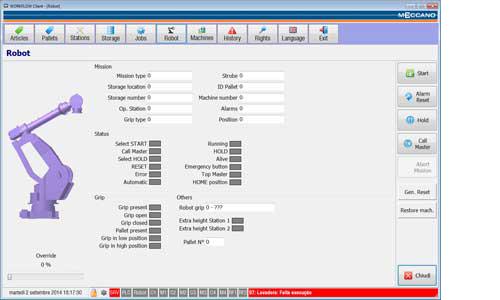 Software supervisore di produzione