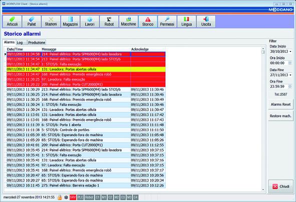 workflow: client magazzini